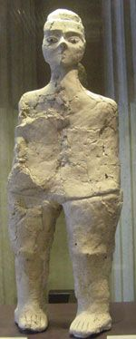 Timeline 10,000-4000 BC Neolithic statue from Jericho