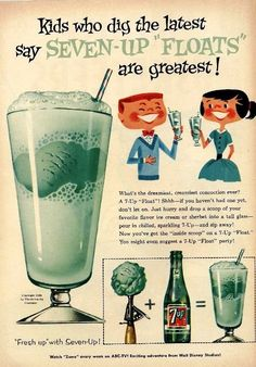 I am fascinated by the 7 up floats. I need to do it soon.