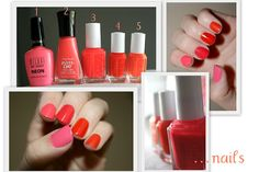 my ombre nails  http://homegrown-chic.blogspot.com/