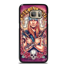 AXL GUNS N ROSES GNR Samsung Galaxy S7 Case Cover  Vendor: Casesummer Type: Samsung Galaxy S7 Case Price: 14.90  This luxury AXL GUNS N ROSES GNR Samsung Galaxy S7 case shall protect your Samsung S7 phone from every fall and scratches with marvelous style. The durable material may give the excellent protection from impacts to the back sides and corners of your Samsung phone. We manufacture the phone cover from hard plastic or silicone rubber in black or white color. The frame profile is thin… Galaxy Note 9, Samsung Galaxy Note 8, Galaxy S7, S7 Case, Iphone 11, Apple Iphone, Guns N Roses, Phone Cover, Silicone Rubber