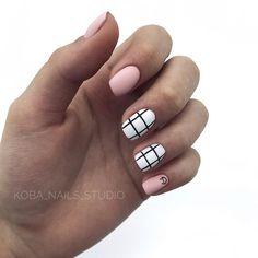 113 elegant nail designs for short nails page 29 Elegant Nail Designs, Elegant Nails, Stylish Nails, Trendy Nails, Nails Ideias, Hair And Nails, My Nails, Nail Manicure, Nail Polish