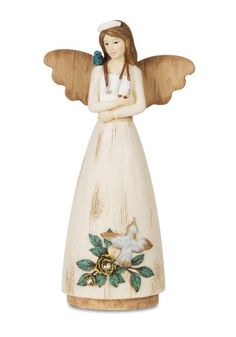 Guardian 11-Inch Pavilion Gift Company Simple Spirits 41012 Angel Figurine and Children