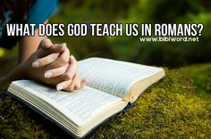 The central message of the letters to the Romans is: the Gospel is the power of God for salvation to everyone who believes (see Romans 1:16).  Paul starts the letter to the Romans by showing that we all need salvation. Everybody can know there is an almighty God, but people are not honouring him (