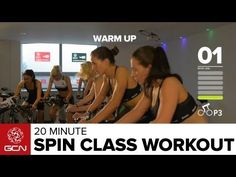 Burn Fat Fast: 20 Minute Spin Class Workout - Spinning® is one of the best ways to lose weight quickly and train for cycle events. Fast Weight Loss, Weight Loss Program, Healthy Weight Loss, How To Lose Weight Fast, 30 Min Workout, Workout Fitness, Workout Videos, Fitness Bike, Health Fitness