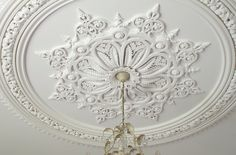 The Sowerby Ceiling Centre by Ryedale Plasterers