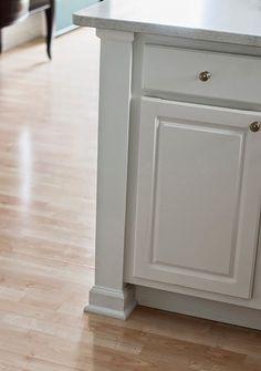 Adding a kitchen counter post