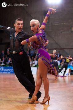 Marius-Andrei Balan and Khrystyna Moshenskaya - WDSF Grand Slam Amateur Latin Stuttgart August 2017