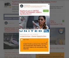 flygcforum.com ✈ UNITED FLIGHT ATTENDANT JOBS ✈ Big Metal Bird ✈