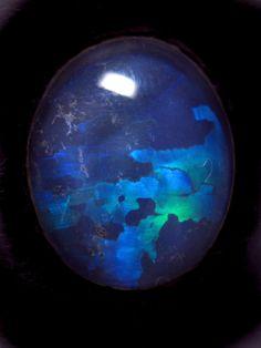 Opal... looks like a blue planet