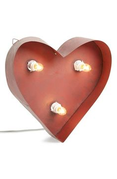Free shipping and returns on Roman Metal Lighted Heart Décor at Nordstrom.com. Set hearts aglow with this lighted metal décor that can be displayed indoors or outdoors so you can sweeten any space.