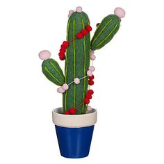 Buy John Lewis Lima Llama Felt Potted Cactus Online at johnlewis.com