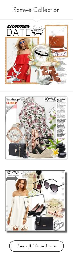 """""""Romwe Collection"""" by azrahadzic ❤ liked on Polyvore featuring Fountain, Wall Pops!, Bobbi Brown Cosmetics, Terre Mère, Whiteley, Barry M and Vie Active"""
