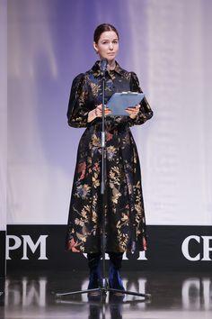 Открытие юбилейного сезона крупнейшей в Восточной Европе выставки моды CPM - Collection Premiere Moscow. Алена Ахмадуллина
