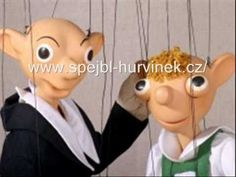 cz Go to the Puppet Museum to look at Spejbl and Hurvínek, two famous puppet characters who first appeared in Pilsen. Hand Puppets, Finger Puppets, Marionette, Prague Czech Republic, Bd Comics, Museum, History, Enjoying Life, Eastern Europe
