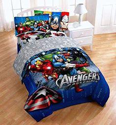 1 X Disney Marvel Avengers Assemble 5pc Full Bedding Comforter & Sheet Set Avengers Assemble http://www.amazon.com/dp/B00EU3D1GI/ref=cm_sw_r_pi_dp_QY4rwb08ZFTJG