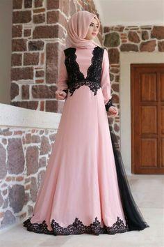 Event Dresses, Modest Dresses, Modest Wear, Islamic Fashion, Muslim Fashion, Abaya Fashion, Fashion Dresses, India Fashion, Dress Batik Kombinasi
