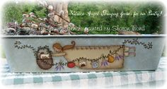 Kitchen Angel - email pattern packet by Sharon Bond by PaintingWithFriends on Etsy