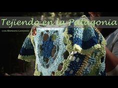 Abrigo circular en crochet. Bárbara Langman - YouTube