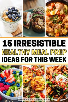 Health Meal Prep, Easy Healthy Meal Prep, Healthy Meals For One, Good Healthy Recipes, Healthy Foods To Eat, Clean Recipes, Quick Meals, Healthy Eating, Health Lunches