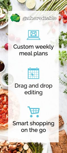 Sign up now for a free trial of our life-changing meal planning tools. Save time, save money, and eat better!: