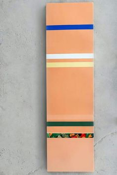 Liberty Battson, '5 in 1', 2K automotive paint on canvas.