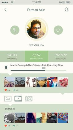 Mobile UI Designs and Concepts for Inspiration-34