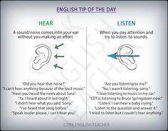 Hear listen