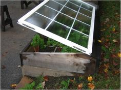 Another way to build a cold frame also some great garden tips!