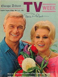Eddie Albert Eva Gabor   Green Acres