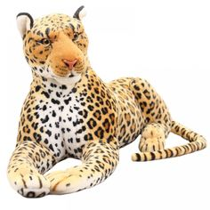 Simulation Leopard Panther plush toy stuffed animal soft doll Realistic classic Play toys trick Unique gift for child – Monkey Stuffed Animal Doll Toys, Pet Toys, Kids Toys, Crochet Penguin, Giant Stuffed Animals, Dinosaur Stuffed Animal, Stuffed Toys, Plush Animals, Baby Animals