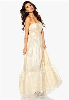 Model Behaviour Sanna Maxi Dress Offwhite