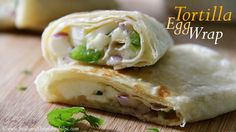 Egg Tortilla Wrap Recipe video, Egg Tortilla or Chapati Roll Recipe: Quick tortilla wrap recipe for breakfast or evening snack. Also ideal for kid's lunch box. This egg tortilla roll is super easy to do, you can even make it with chapati.