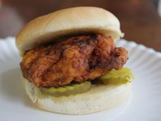 Chick-Fil-Gay Sandwich by Hilah Johnson. There's a recipe AND a video! So you'll know if you're doing it wrong.