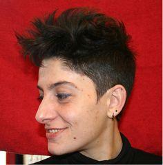 Lesbian Haircuts Long Hair