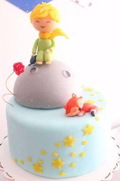Melinterest Argentina. Torta Y Cupcakes Del Principito Prince Birthday Theme, Baby Boy 1st Birthday, First Birthday Parties, First Birthdays, Birthday Cake, Little Prince Party, The Little Prince, Baby Cakes, Baby Party