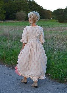 Kleid, les robe, dress, Baumwolle, coton, hand made, ours size in Kleidung & Accessoires, Damenmode, Kleider   eBay