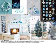 blue christmas decorations ideas - Поиск в Google