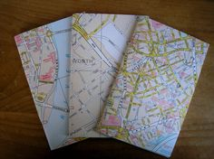 Inserts to fit Fieldnotes size Midori Travellers by molsmum