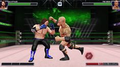 THIS'S AWESOME GAME | WWE Mayhem Android Gameplay Part 1 (The Rock, Brock Lesnar, Kingston)