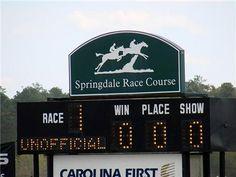 Carolina Cup Week: The Course & Races: Springdale Race Course
