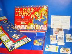 Juego de mesa EL PALE DEL EURO cefa toys buen estado sin uso real