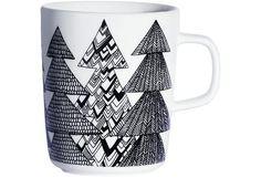 Mugs & Cups from Rörstrand, Arabia, Marimekko, Iittala, Royal Copenhagen