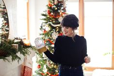 New Darlings - Cluse for the Holidays - Classic Outfits - Milkbraids Hairstyle - Christmas Decor