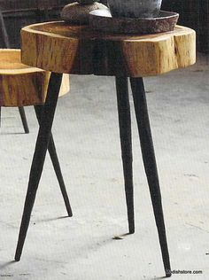 Roost Terra Stool/Side Table