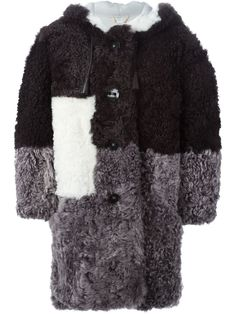 FENDI  colour block coat  $12,571.60
