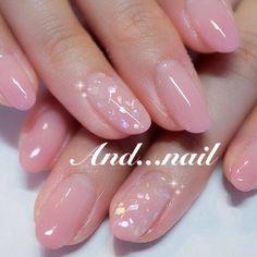 American french nails acrylic in 2020 Nail Manicure, Diy Nails, Cute Nails, Fingernail Designs, Diy Nail Designs, Elegant Nail Art, Kawaii Nails, Minimalist Nails, Round Nails