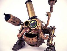 The Steampunk Mr. Potato Head