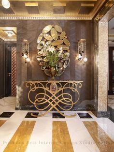 Glamorous Hallway Enticing Entryways Vignettes