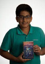 Life of Pi : a novel -- by Yann Martel -- (see book here: http://catalog.uwcsea.edu.sg/cataloging/servlet/presenttitledetailform.do?site=103&siteTypeID=-2&bibID=77354 )