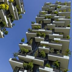 """Stefano Boeri's """"vertical forest""""  nears completion in Milan"""